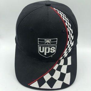 Vintage UPS Racing Stripe Hat 🏁